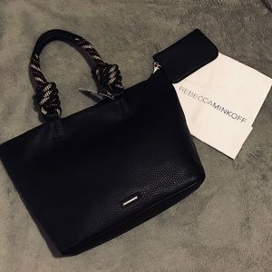 Rebecca Minkoff Climbing Rope Leather Tote Bag